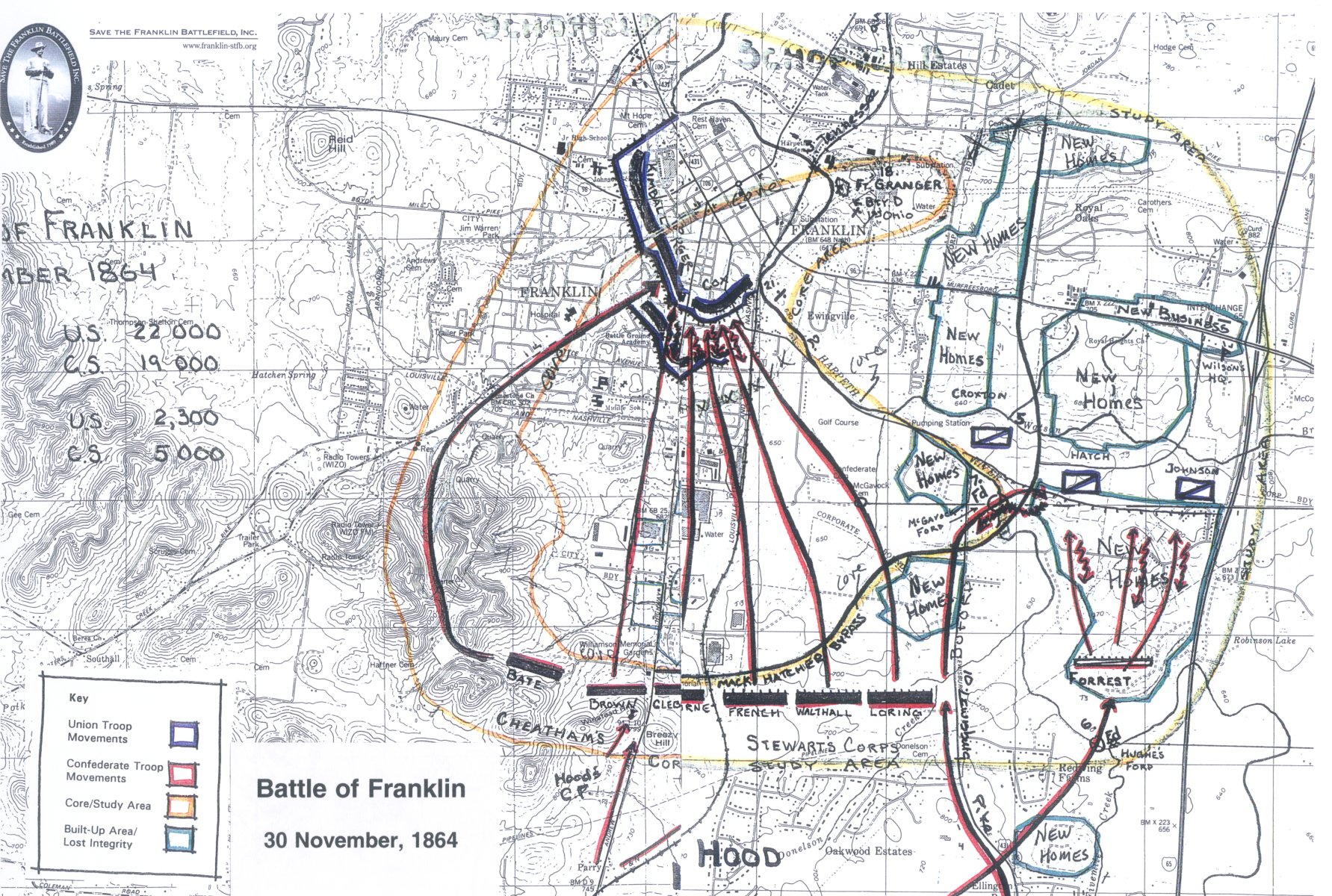 Save The Franklin Battlefield